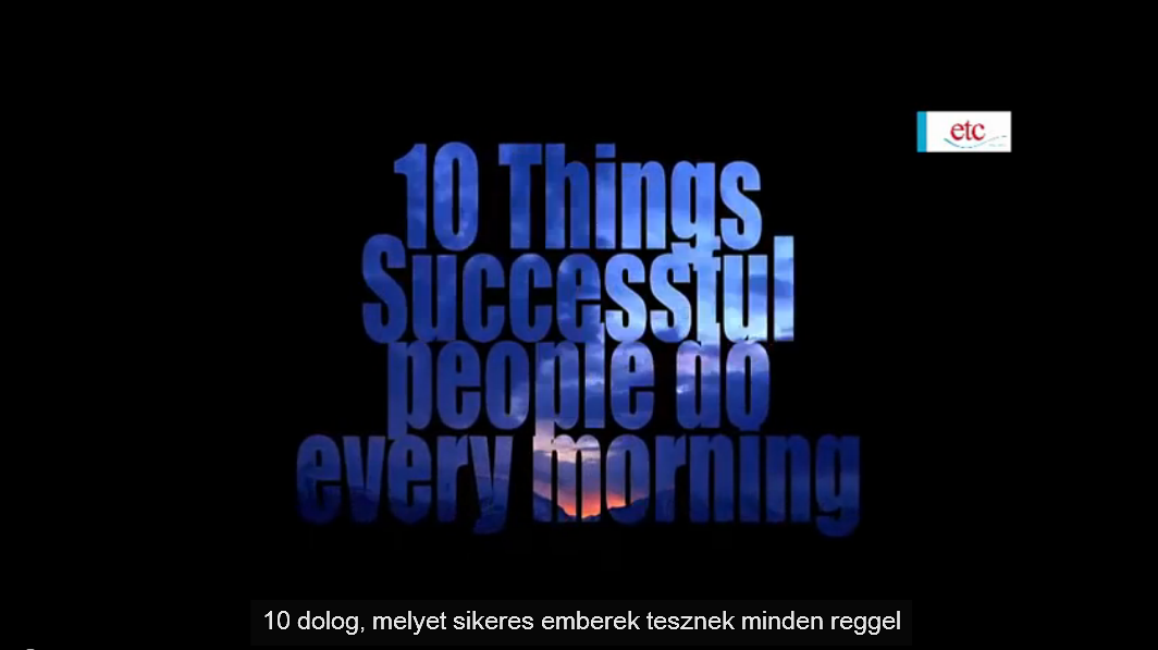 10_dolog,_melyet_sikeres_emberek_tesznek_minden_reggel.