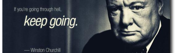 Churchill szerint a nyelvtanulás